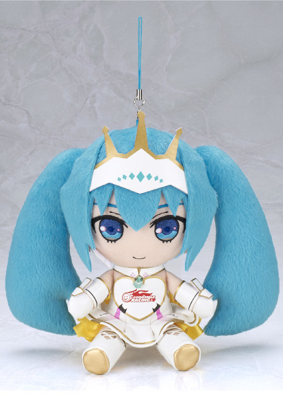 Racing Miku 2015 plush strap