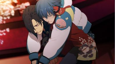 Beni looks so concerned for Aoba.