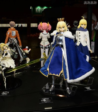 Saber & others from the R.A.H. line!