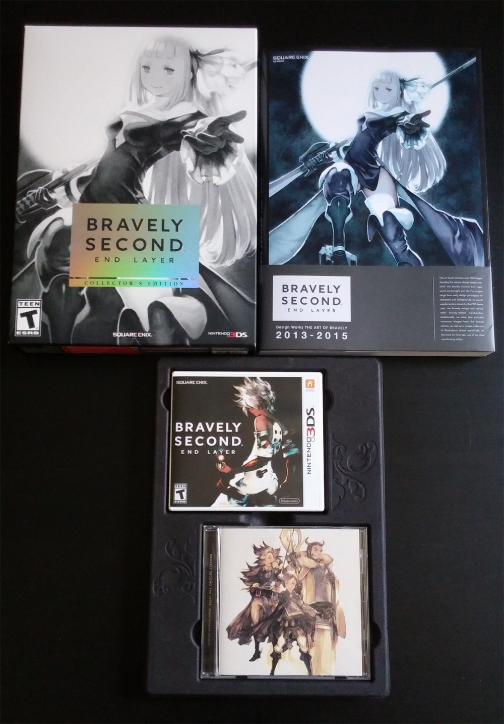 33 - Bravely Second LE Set
