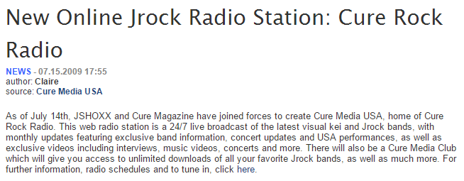 cure rock radio