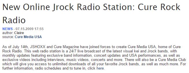cure rock radio