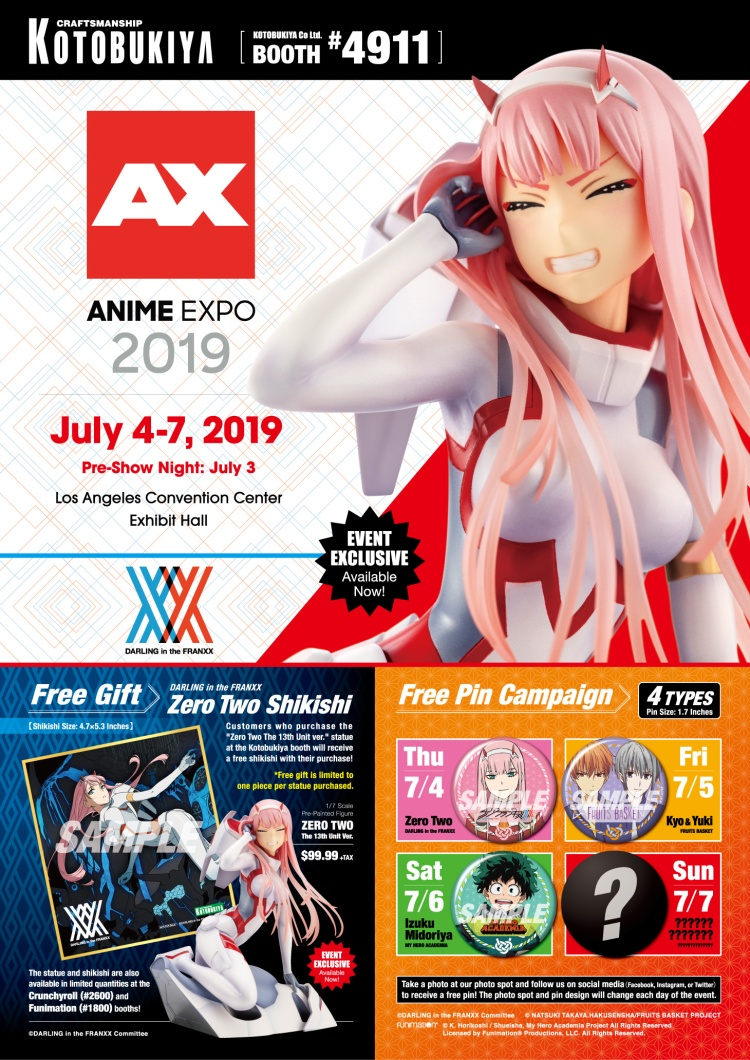 Kotobukiya Anime Expo