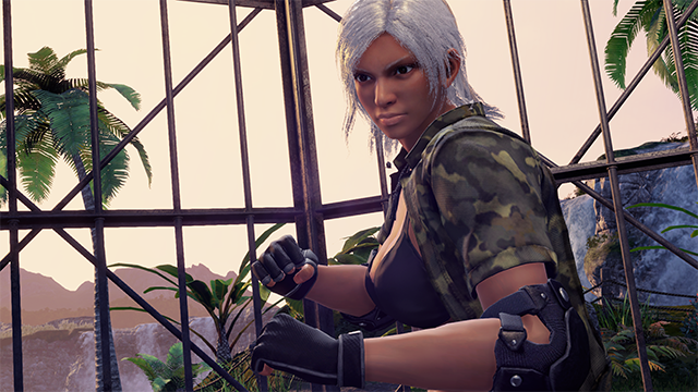 Virtua Fighter 5 Ultimate Showdown - Character Screenshot (Vanessa) sm
