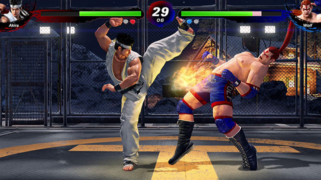 Virtua Fighter 5 Ultimate Showdown - Gameplay Screenshot 1 sm