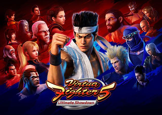 Virtua Fighter 5 Ultimate Showdown - Key Art (Horizontal)-sm